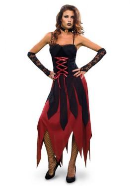 Disfraz de Vampiresa Gótica para Halloween