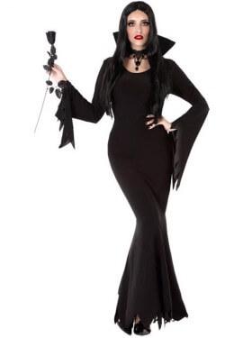 Costume da vampiro gotico per donna