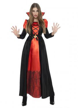 Disfraz de Vampiresa largo para mujer