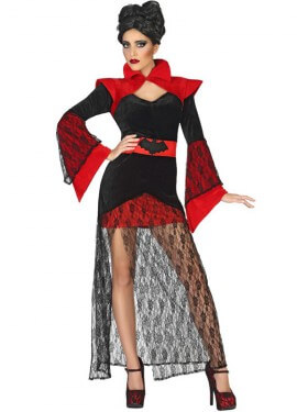 Disfraz de Vampiresa Murciélago para mujer