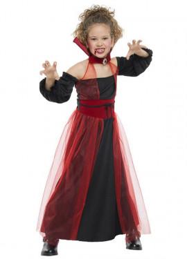 Disfraz de Vampiresa tul para niña