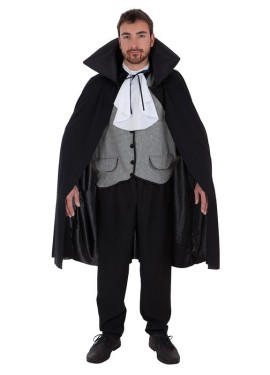 Disfraz de Vampiro a cuadros para hombre
