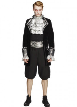 Disfraz de Vampiro Barroco para hombre