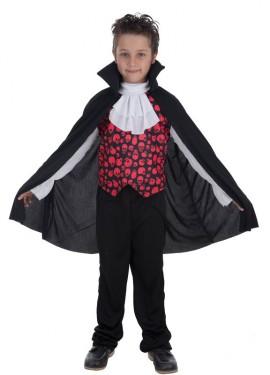 Disfraz de Vampiro Conde Romano para niño
