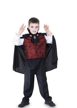 Disfraz de Vampiro elegante para niño