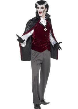 Disfraz de Vampiro Gótico para hombre