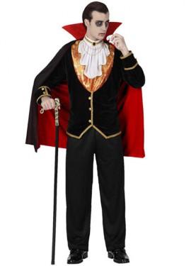 Disfraz de Vampiro Lujo para hombre