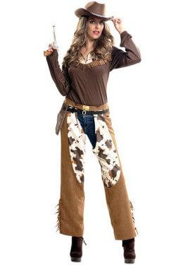 2133fb66cb8a9 Disfraz de Cowgirl o Vaquera para Mujer