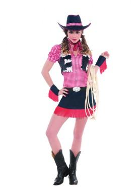 Disfraz de Vaquera o Cowgirl de rodeo para mujeres