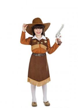 Disfraz de Vaquera Pistolera para niña