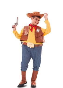 Disfraz de Vaquero con aro para niño