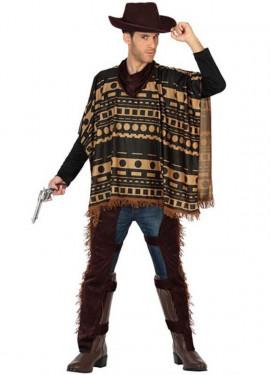 Disfraz de Vaquero con Zahones para hombre