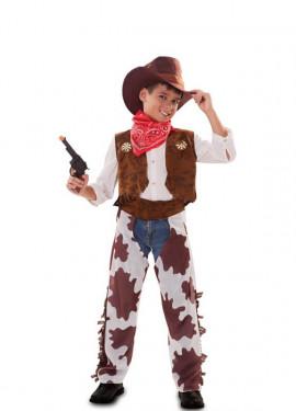 Disfraz de Vaquero con Zahones para niño