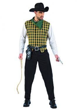 Disfraz de Vaquero Deluxe para hombre