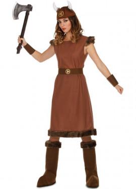 Costume da Vichinga Odin per donna