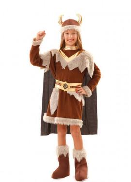 Déguisement de Vikingue pour fille