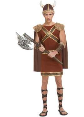Disfraz de Vikingo Guerrero para hombre
