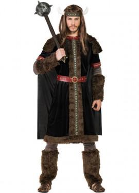 Disfraz de Vikingo Oscuro para hombre