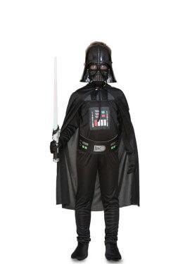 Costume da malvagio galattico con maschera per ragazzo