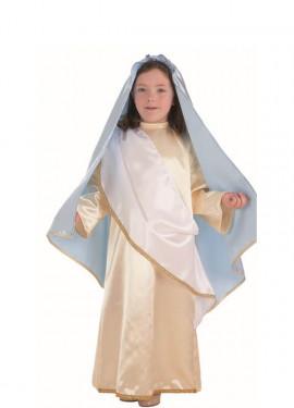 Disfraz de Virgen Maria para niña
