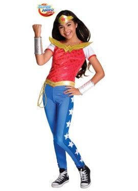 Disfraz de Wonder Woman Deluxe SHG para niña