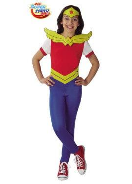 Disfraz de Wonder Woman SHG para niña