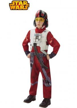 Disfraz de Xwing Fighter Ep7 Deluxe de Star Wars para niño