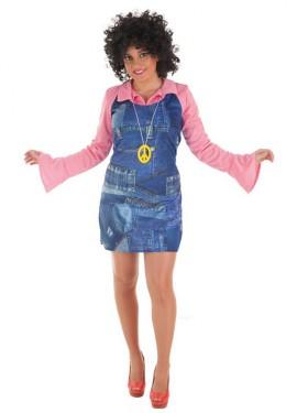 Disfraz de Ye-Ye Vaquero para mujer