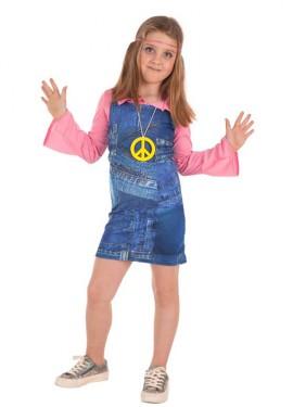 Disfraz de Ye-Ye Vaquero para niña