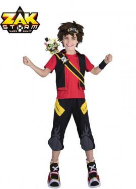 Disfraz de Zak Storm con peluca y espada para niño