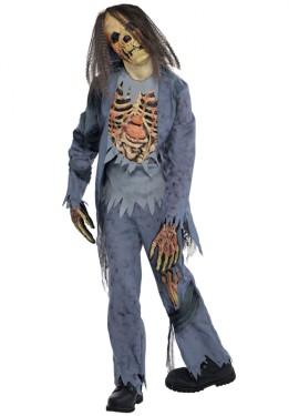 Disfraz de Zombie para niños y adolescentes para Halloween