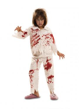 Disfraz de Zombie Sonámbula para niñas de Halloween