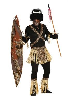 Disfraz de Zulú Africano para hombre