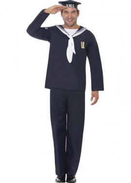 Disfraz del Ejército de Marina para Hombre