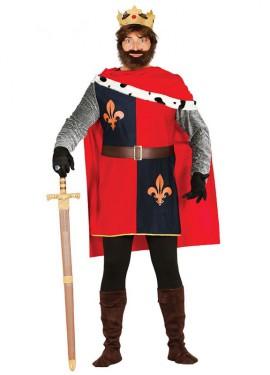 Disfraz del rey Conquistador para hombre