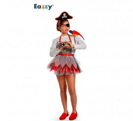 Disfraz Delantal Brave Pirate para niña