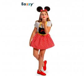 Disfraz Delantal Chic Mouse para niña