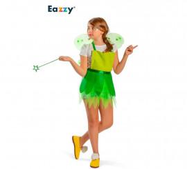 Disfraz Delantal Green Fairy para niña