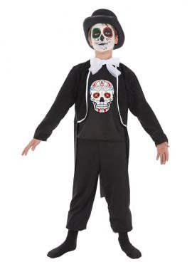 Disfraz Día de los muertos para niño