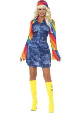 Costume da discoteca per donna
