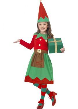 Déguisement de Lutin Elfe pour fille 4 à 6 ans