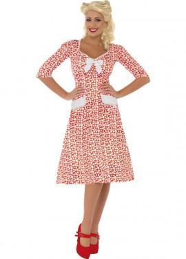 Disfraz Encanto de los Años 40 para Mujer