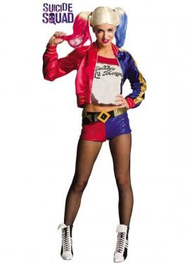 1ca6a9eaf68 Disfraz Harley Quinn de Escuadrón Suicida para mujer