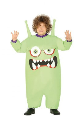 Disfraz Hinchable de Monstruo Alienígena para niños