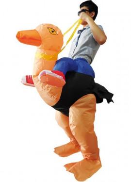 Déguisement Gonflable Carry Me Autruchel pour adulte