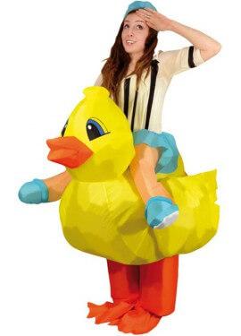 Déguisement Gonflable Carry Me Poussin pour adulte
