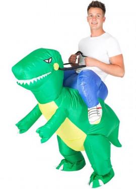 Déguisement Gonflable Carry Me Dinosaure pour adulte