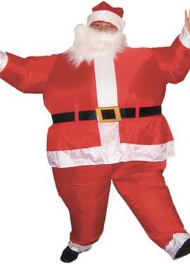 Disfraz Hinchable Papá Noel para adultos