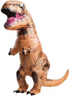 Disfraz Hinchable Tiranosaurio Rex para adultos