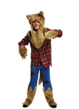 Disfraz Hombre Lobo para Niño para Halloween